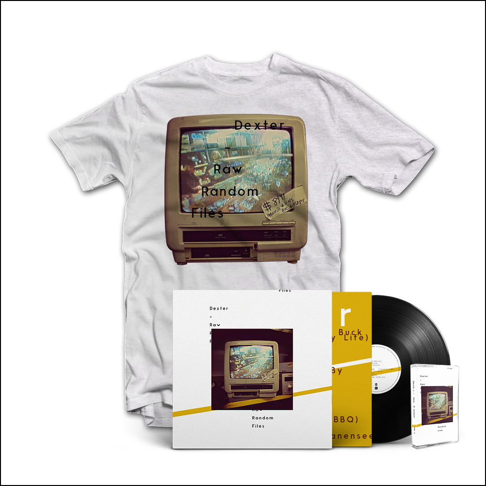 Raw Random Files – Bundle w/ Vinyl, Tape, T-Shirt