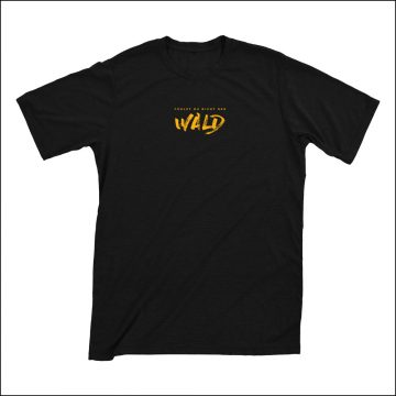 Lazy Lizzard Gang - Wald (T-Shirt/Black)